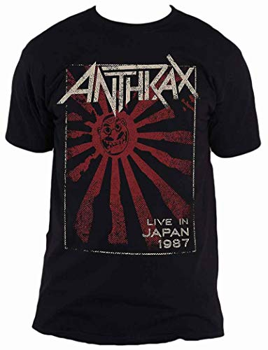 Global Design Concepts Anthrax Live in Japan T-Shirt M