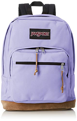 Jansport Right Pack Backpack - Classic Design Including 15' Laptop Sleeve | Purple Dawn