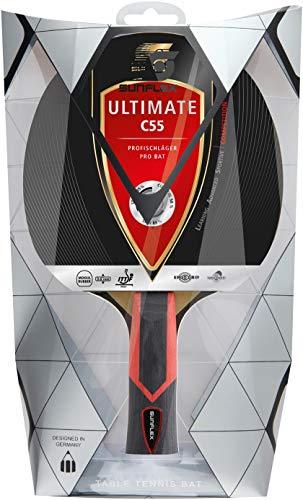 Sunflex Erwachsene Profischläger Ultimate C55, Mehrfarbig, M