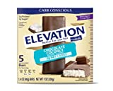 Elevation by Millville Chocolate Coconut Endulgent Bars 7oz(1.4oz x 5 Bars), Pack of 1