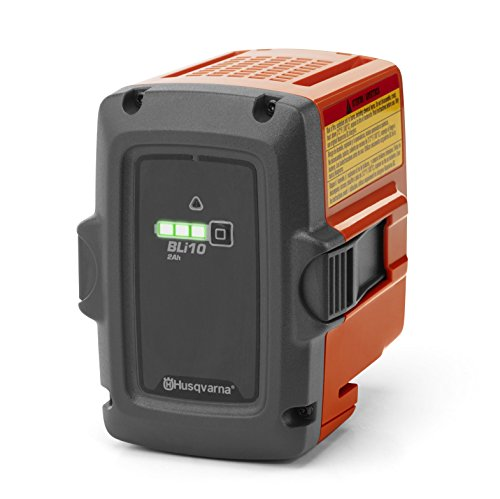 Husqvarna BLi10 Lithium-ION 2100mAh 36V Batterie Rechargeable - Batteries Rechargeables (2100 mAh, Lithium-ION (Li-ION), 36 V, Gris, Orange, 1 pièce(s))
