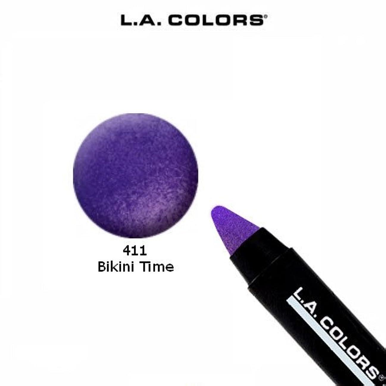 管理者牽引マラウイLA COLORS Jumbo Pencil Bikini Time (並行輸入品)