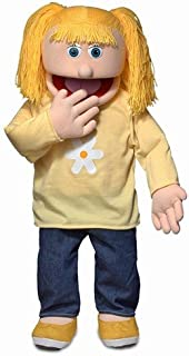 """30"""" Katie, Peach Girl, Professional Performance Puppet with Removable Legs, Full or Half Body"""