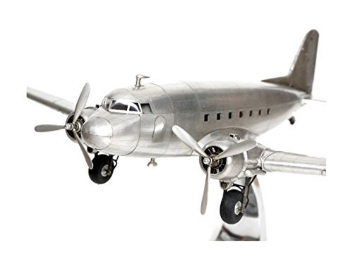 Brillibrum design modelvliegtuig Douglas Dakota DC-3 Rosinenbomber metaal volledig metaal standmodel vliegtuigmodel replica passagiersvliegtuig transportvliegtuig