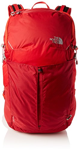 THE NORTH FACE Unisex-Erwachsene Litus 32-Rc Tagesrucksack, Rot (Rage Red/High Risk R), 22x24x45 Centimeters