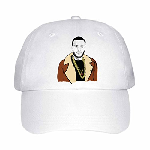 Babes & Gents French Montana Cap/Hat (Unisex) (White)