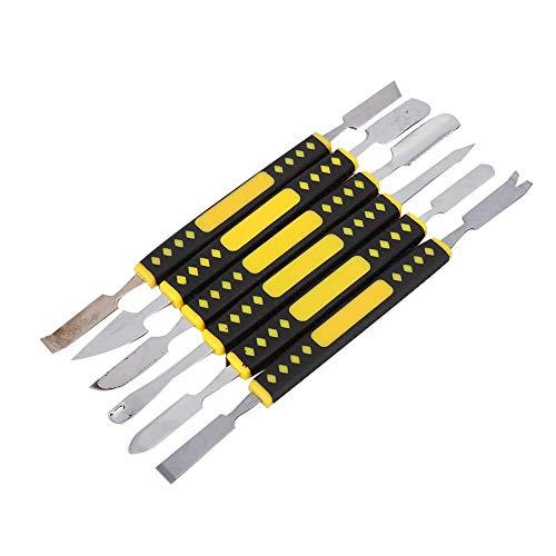 6 unids/set herramienta de apertura de reparación Spudger, herramienta de apertura de reloj, resistente al agua súper duradera para empresas de reparación de Wacth, uso de relojeros, uso