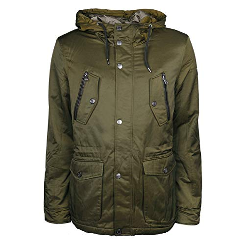 Guess M73L20W8SW0 Capa, Verde (Outsiders Green), Large para Hombre