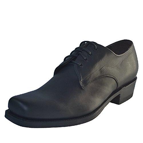 Sendra Handmade Biker Shoes, Farbe:Black;Größe:40