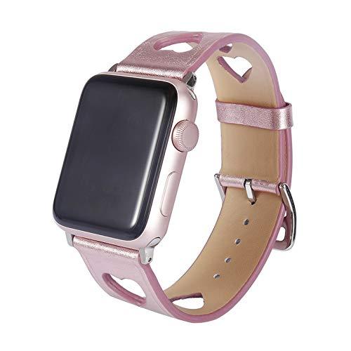 Correa de Repuesto Compatible con la Correa de Apple Watch, Bandas elásticas de Silicona Suave Pulsera Deportiva Compatible con iWatch Series 6 5 4 3 2 1,42mm/44mm