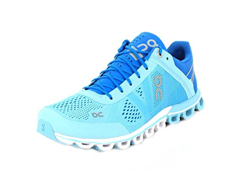 On Women's Running Cloud Sneaker, Blue Haze - 6 B(M) US