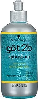 Got 2b Spiked Up Gel 8.5-Ounce Bottle (Pack of 3)