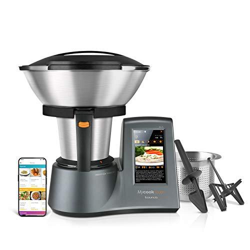 Taurus Mycook Touch Robot de Cocina, wifi, 1600 W, 2 L, hasta 140 grados,...