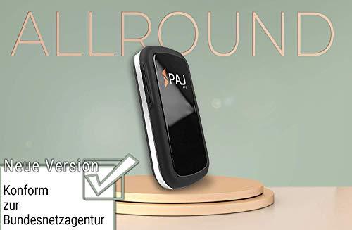 PAJ GPS Allround Finder Modell 1 GPS Tracker etwa 20 Tage Akkulaufzeit (bis zu 60 Tage im Standby Modus) Live-Ortung Peilsender für Auto, Personen