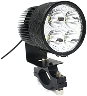 TURN RAISE Waterproof 20W High Power 2000LM Led Motorcycle Headlight Lamp Motorbike Led Spot Light for Bicycles Motorcycles Cars Trucks Boat Using