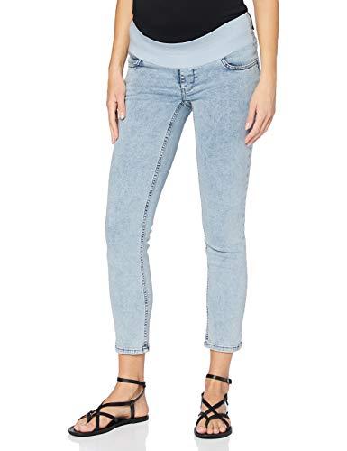 SUPERMOM Jeans Utb Skinny 7/8 Vaqueros Premama, Azul (Acid Blue P538), W32 (Talla del Fabricante: 32) para Mujer
