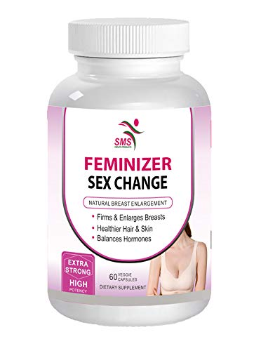 Feminizer Sex Change Pueraria Mirifica Supplement 500mg Root Extract Powder Capsules Promotes Women's Health, Organic Natural Herbal