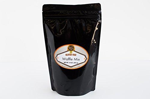 New Grains Gluten Free Belgian Waffle/Pancake Mix, 14 oz (4 Pack)