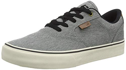 Etnies boys Kids Blitz Skate Shoe, Grey/Brown, 2.5 Big Kid US