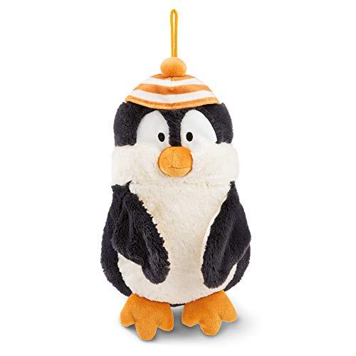 NICI 45744 Kuscheltier-Wärmflasche Pinguin Peppi 350 ml I 2 in 1 – Kuscheltier und Wärmflasche in einem – für Jungen und Mädchen I Plüschtier Bettflasche ab 10 Monaten