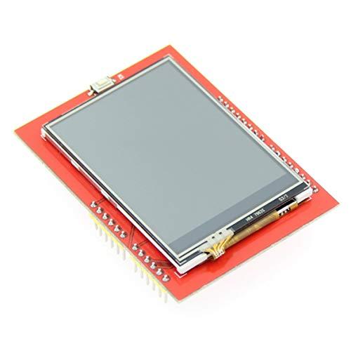 nbvmngjhjlkjlUK 2.4 Pouces Tft SPI série LCD résolution 320 * 240 2.4 Pouces écran LCD pour Arduino 5 V / 3.3 V Pilote IC Ili9341 avec Tactile