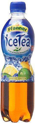Pfanner Eistee Lemo-Lime, 12er Pack (12 x 500 ml)