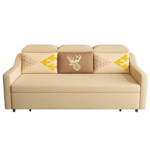 RJMOLU Sofá Convertible Sofá Cama con Durmiente de extracción - Sofá Plegable Moderno - Adecuado para sofá de Espacio pequeño, Sala de Estar,Latex Filling