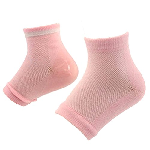 Chaussures unisexe talon chaussettes Spa hydratant talon peau soin de nuit protecteur avec orteils Design ouvert pour la peau durement craquelée sèche