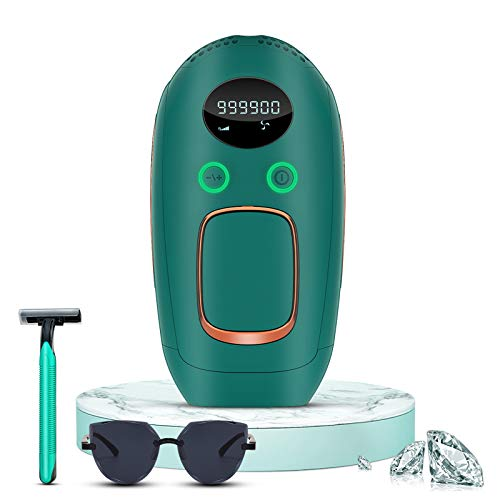 Hair Removal for Women and Men, Permanent Painless Laser Hair Removal System, Upgrade to 999,900 Flashes, At-Home Hair Remover for Whole Body Use