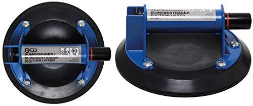 BGS 7983 | Gummisauger/Scheibenträger | extra stark | Ø 200 mm | Saugheber | Saugnapf