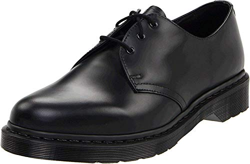 Dr.Martens Unisex 1461 Ink Blot 3 Ojos Ocasionales Zapatos Oxford, Cuero Negro, 7 M UK, M8 / W9 M EE. UU.