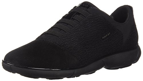 Geox Damen D Nebula C Sneaker, Schwarz (Black C9999), 38 EU