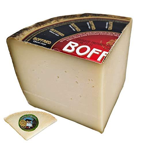 Queso de Oveja Viejo Boffard Reserva - Queso Curado - Elaborado con leche cruda de Oveja - Peso Aproximado 800 gramos - Queso Viejo de Oveja