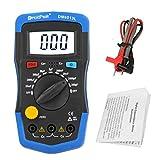 SHURROW Medidor de capacitancia Digital de Mano, probador de condensadores, capacímetro electrónico, Auto
