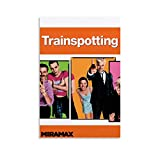 BUJI Trainspotting - Póster clásico de película (30 x 45 cm)