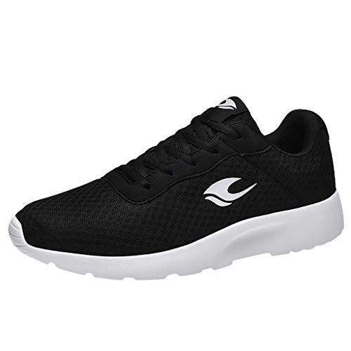 ODRD- Schuhe Unisex Sportschuhe Sneakers Damen Herren Sneakers Atmungsaktives Mesh Bequemer leichter Wandersportschuh Combat Hallenschuhe Worker Turnschuhe Wanderschuhe Sneakers Walking Shoes Sport