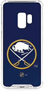 Skinit Clear Phone Case for Galaxy S9 - Officially Licensed NHL Buffalo Sabres Solid Background Design