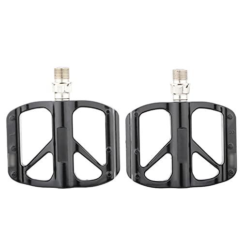 QYK -Pedales de Bicicleta de Carretera, Pedales Planos de Bicicleta con rodamiento Sellado, Plataforma Ancha de aleación, Pedales de MTB de aleación de Aluminio,B1