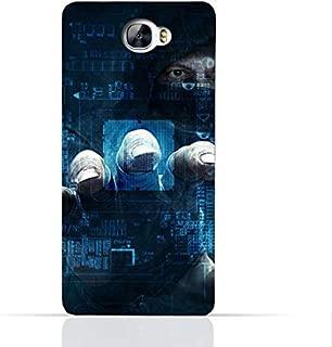 Huawei Y6 II Compact TPU Silicone Case With Dangerous Hacker Design