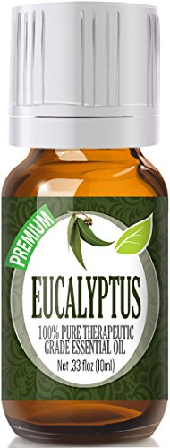Eucalyptus Essential Oil - 100% Pure Therapeutic Grade Eucalyptus Oil - 10ml