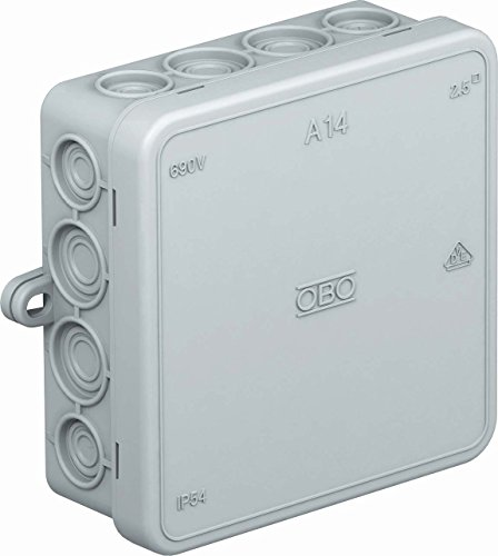 obo-bettermann System conex. IJF. Dry Box Shunt/oder IP54A14/VDE VACIA Polyethylen grau
