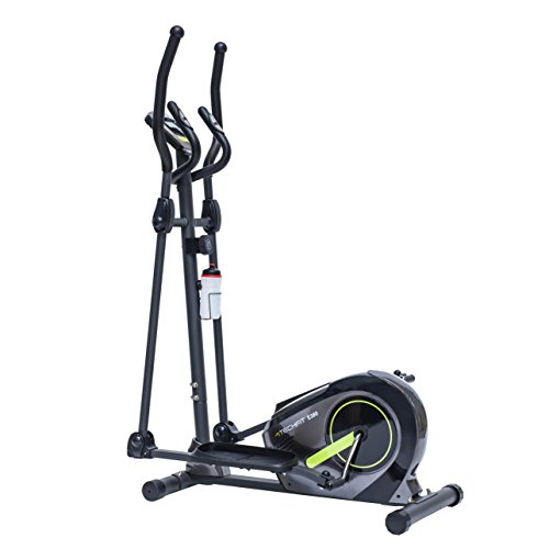 TechFit E380 Cross Trainer, Elliptical Bike Home, Weight Loss Machine Cardio Fitness Exercises, Magnetic Resistance Device Fit Indoor Spaces