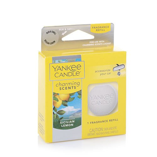 Yankee Candle Sicilian Lemon Charming Scents Fragrance Refill