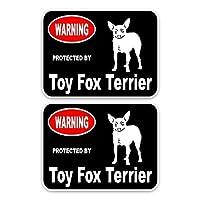 LYQXZ-スタイリッシュでクールな車のステッカー 車のステッカー PVC、15X11.4CM、2倍のおもちゃ、フォックステリア、犬、車の装飾、