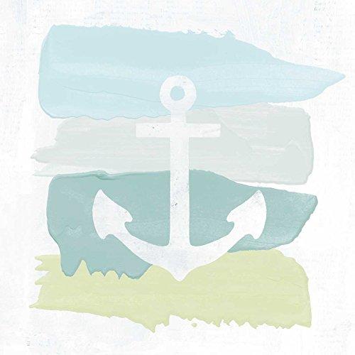 Preisvergleich Produktbild The Poster Corp Moira Hershey Seaside Swatch Anchor Kunstdruck (60, 96 x 60, 96 cm)