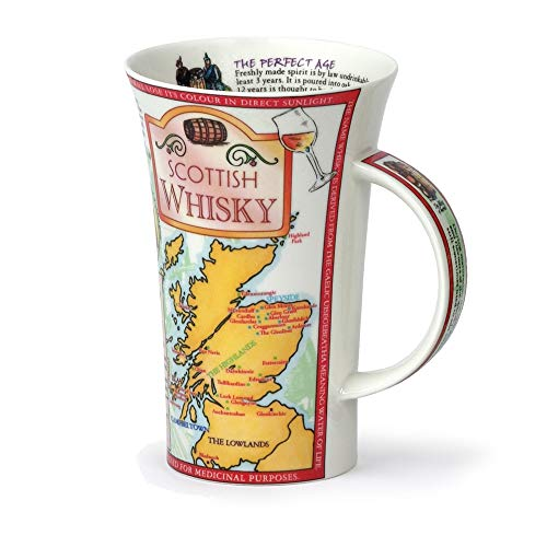 Dunoon Tasse aus feinem Porzellan, Glencoe, schottischer Whisky