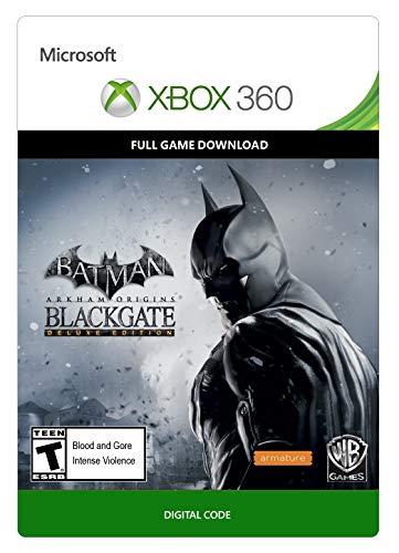 Batman: Arkham Origins Blackgate Deluxe | Xbox 360 - Codice download