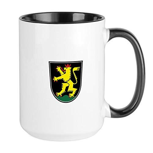 CafePress - Heidelberg große Tasse - Kaffeetasse, groß 425 ml, weiße Kaffeetasse