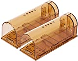 VISCAL Humane Mouse Trap, Live Mice Trap, Reusable Indoor and Outside Mouse Traps