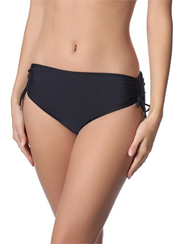 Merry Style Slip Bikini Donna M30 (Nero (9240), 50 (Taglia Produttore: XXL))
